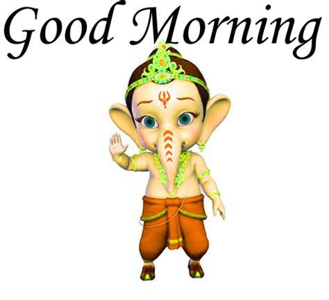 good morning ganesha images wallpaper