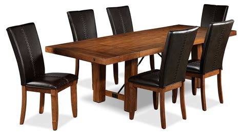 dining room set 7 helix 7 dining room set oak s