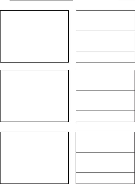 vertical template vertical storyboard template for free formtemplate