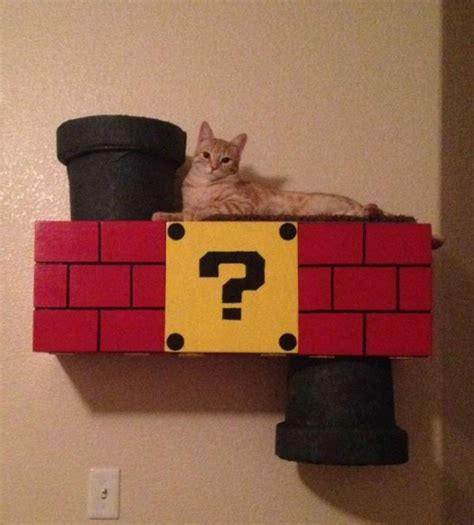 Mario Cat Shelf by The Mario Cat Climber Neatorama