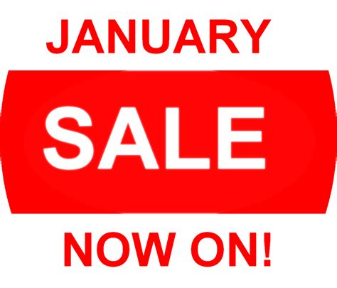 after new years sales january sale