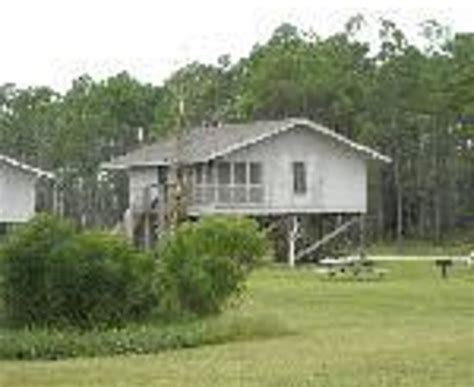 Gulf State Park Cabin Rentals by View From The Deck Of One Of The Lakeside Cottages