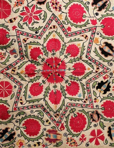 uzbek vintage suzani handmade embroidery sew et al pinterest 127 best ethnic bohemian paisley ss15 images on pinterest