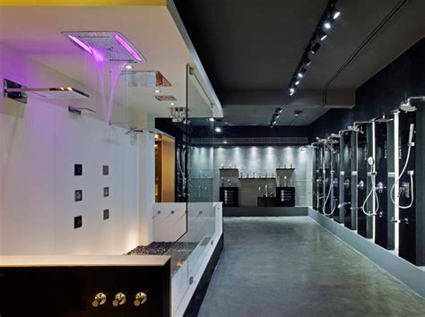 Modern Bathroom Showroom Provocative Modern Architecture Approach For Bathroom