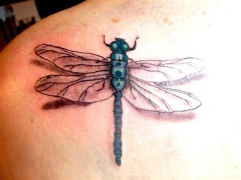 3d dragonfly tattoos 3d dragonfly on left shoulder back tattoos book