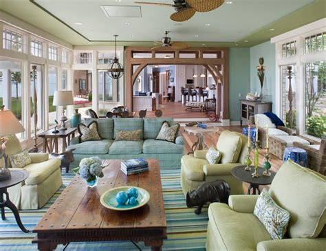 coastal style living room home interior design what you can learn by adding home interior summer colors