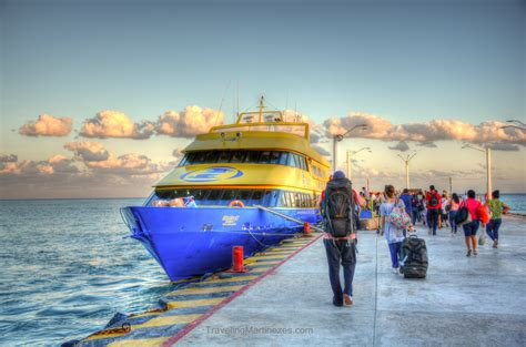 catamaran ultramar cancun ferry lines between playa del carmen and cozumel