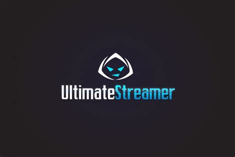 ultimate streamer logo identity gamers logo