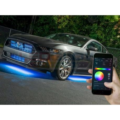control lights with smartphone million color smd led underbody lighting kit with