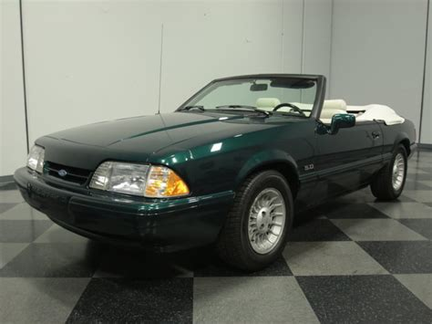 1990 mustang 5 0 7 up special ford mustang 5 0 liter v8 1990 convertible sold