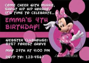minnie mouse birthday invitation templates free free printable minnie mouse invitations template best