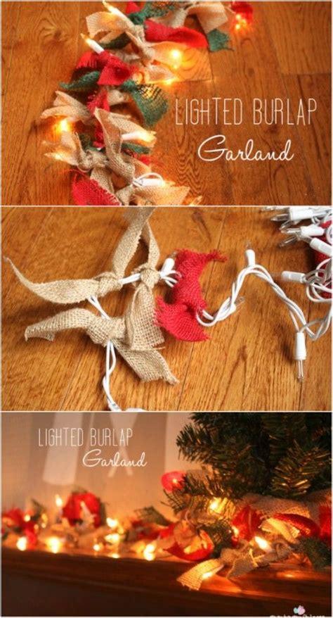 1000 ideas about burlap garland on pinterest burlap