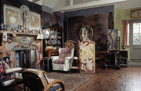 the charleston house the bloomsbury group house charleston