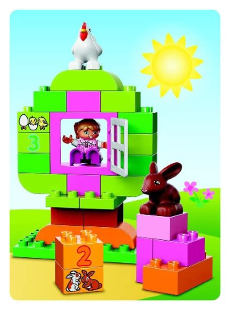 Lego 10571 Duplo All In One Pink Box Of lego lego duplo all in one pink box of