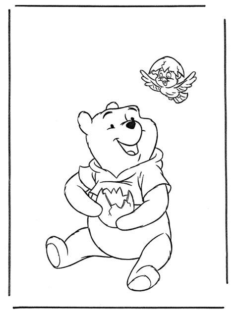 Pu der Bär 1 - Malvorlagen Pu der Bär