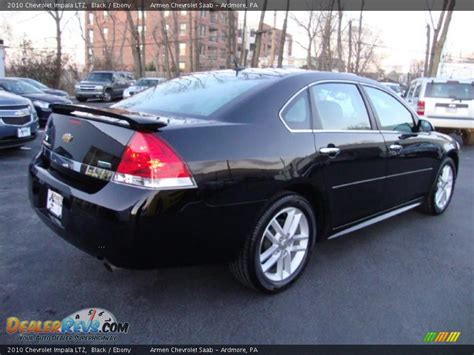 2010 chevrolet impala ltz black photo 8