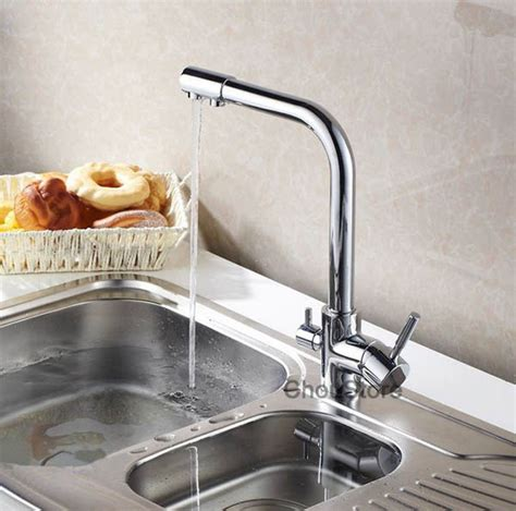 Kitchen Sink Water Spout Luxury 3 Way Kitchen Sink Faucet Mixer Tap With