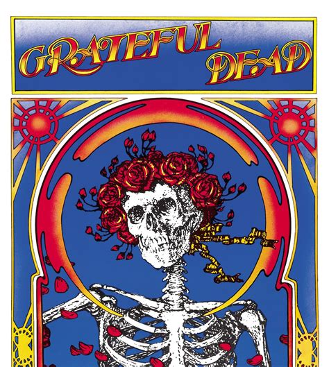 Grateful Dead The Best Of Skeletons From The Closet by Grateful Dead Wallpapers Skeleton And Roses Wallpaper