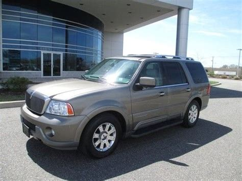 how to sell used cars 2004 lincoln navigator lane departure warning sell used 2004 lincoln navigator 4wd navigation dvd 1 owner stunning in bohemia new york