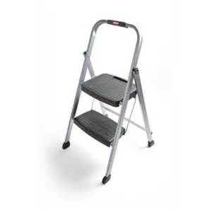 home depot step ladder rubbermaid 2 step steel step stool ladder