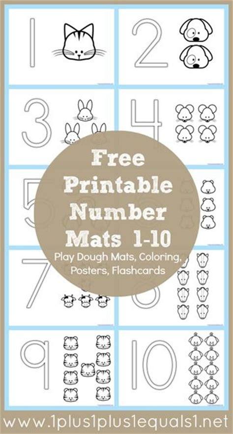 free number coloring printables from 1plus1plus1 carisa