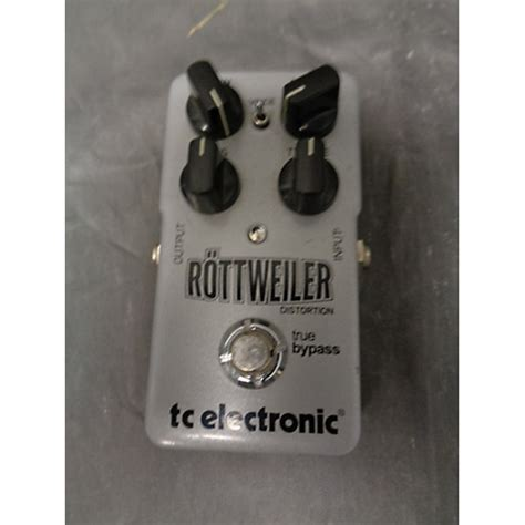 Tc Electronic Rottweiler Distortion Pedal used tc electronic rottweiler distortion effect pedal