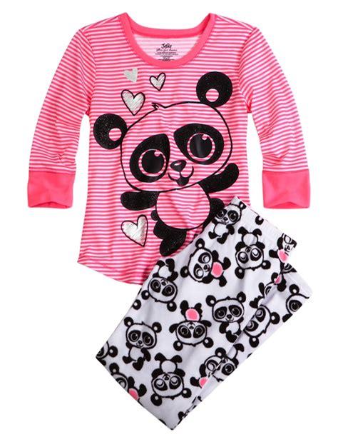 Pink Cup Cake Tsum Tsum Shortpants Pajamas panda fleece pajama pant pant sets pajamas shop