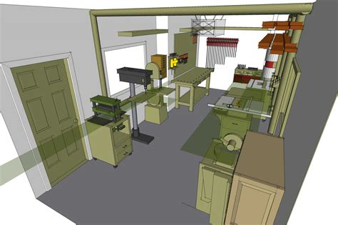 small woodworking shop floor plans woodshop ideas woodshop ideas images diy pinterest