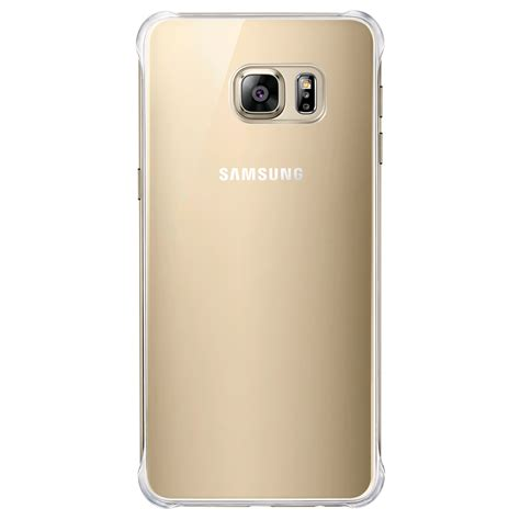 Samsung S6 Samsung Glossy Cover For Samsung Galaxy S6 Edge Gold