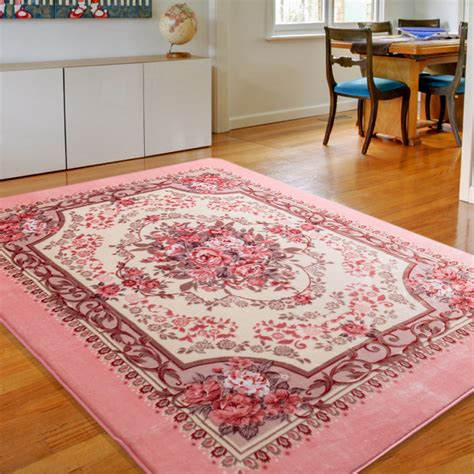 honlaker european flowers living room carpet bedroom rugs