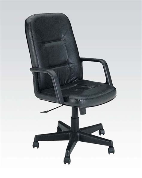 Genuine Leather Executive Chair by Acme Furniture Genuine Leather Executive Chair Ac02339
