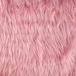 Pink fur texture faux fur mongolian pink