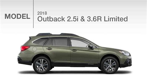 2018 subaru outback 2 5i limited 2018 subaru outback limited 2 5i 3 6r model review
