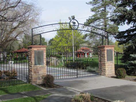 International Garden by Parks International Peace Gardens Salt Lake City The
