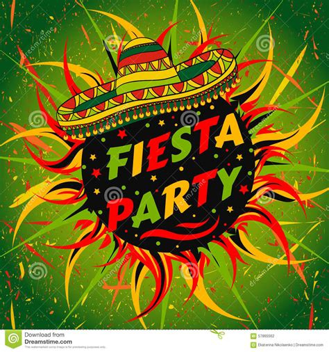 Mexican Fiesta Flyer Template