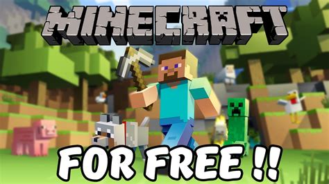 get full version of minecraft free how to get minecraft for free full version 2015 youtube