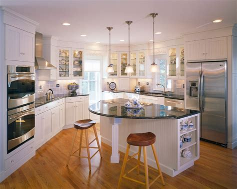 houzz com kitchen islands seapine cottage traditional kitchen boston by