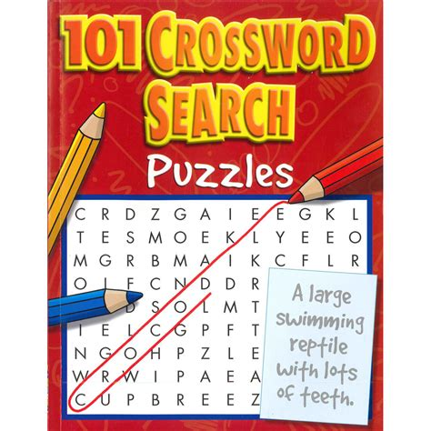 puzzle books 101 crossword search puzzles book by top that