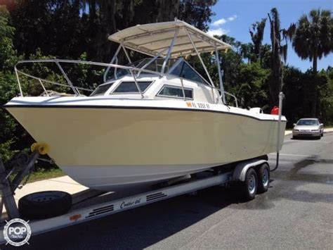 grady white offshore fishing boats for sale 1985 used grady white 240 offshore walkaround fishing boat