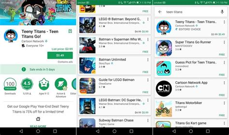 Play Store Original Play Store Showing Both Original And Sale Prices For Apps