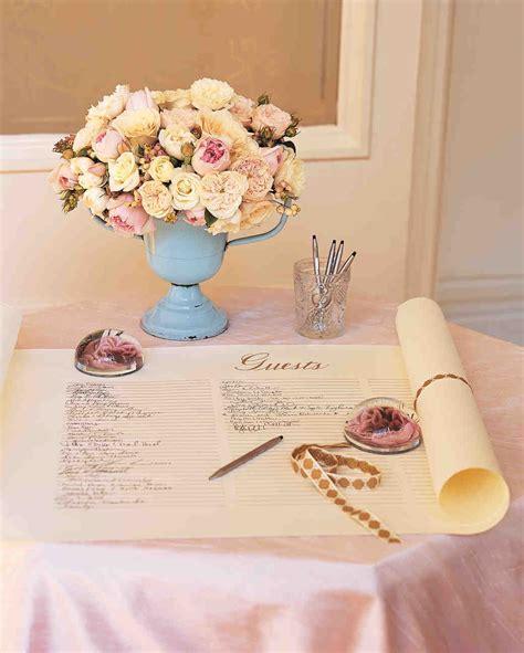 68 guest books from real weddings martha stewart weddings