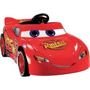 Lighting Mcqueen Battery Operated Car Power Wheels Disney Pixar Cars 2 Lightning Mcqueen Battery