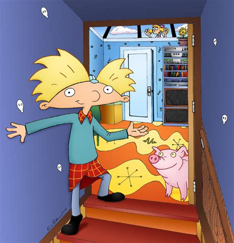 hey arnold bedroom hey arnold arnold s room by arnoldmania on deviantart
