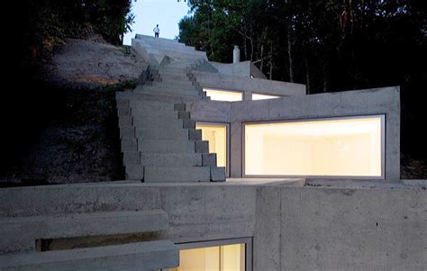Narrow Home Designs by Iconic Tolo House By Architect Alvaro Leite Siza Ccd