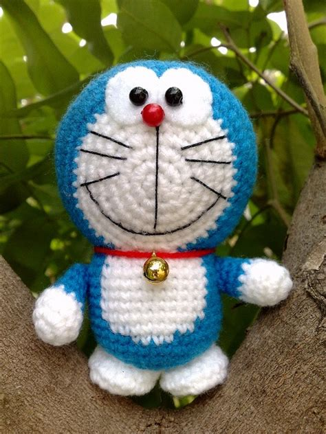 pattern crochet doraemon doraemon little doraemon inspiring ideas pinterest