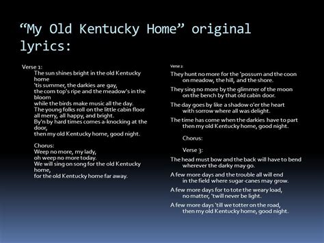 kentucky after the civil war ppt