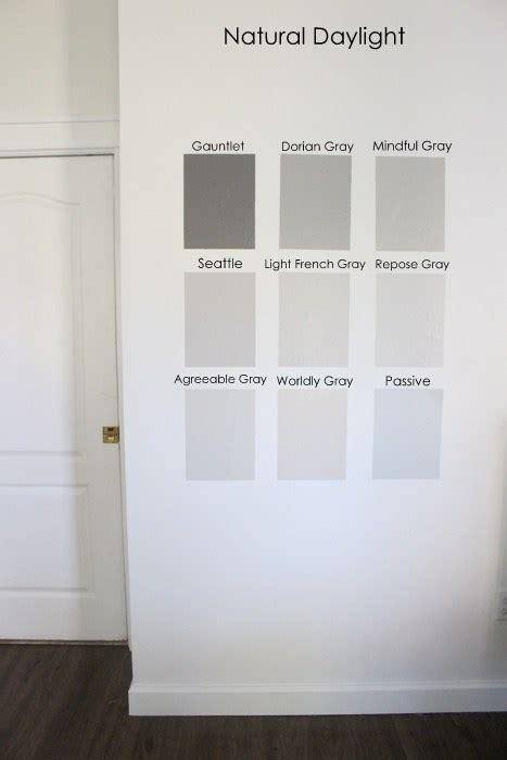 gray paint colors  put   test   home