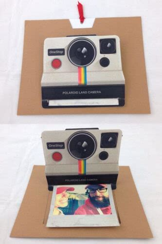 polaroid pop up card template 10 diy gifts your friend didn t even about