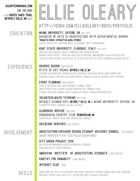 interior design cv layout 25 best ideas about interior design resume on pinterest