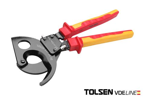 Tool Bag Tolsen tolsen v12038 insulated vde cable cutters 380mm ebay